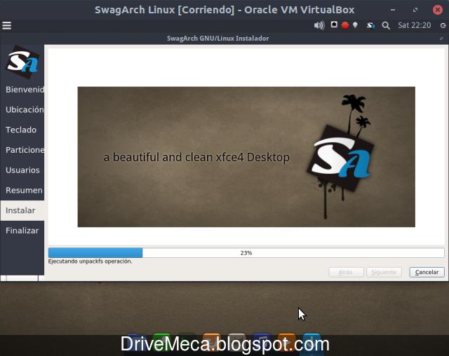 Instalar SwagArch Linux