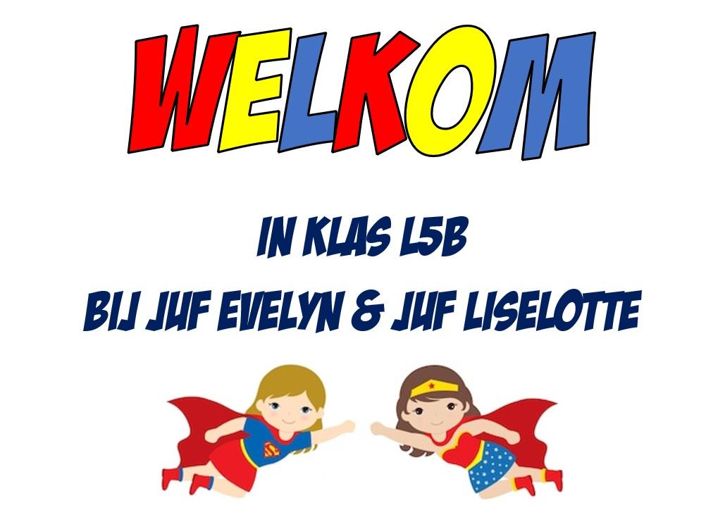 Welkom op de blog van klas L5B