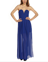Prom Dress the Night TFNC Nelle Strapless Maxi