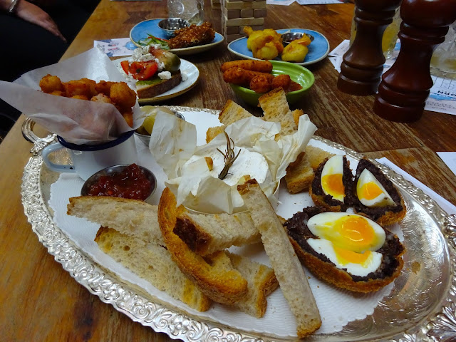 Taster Platter at Cosy Club Manchester