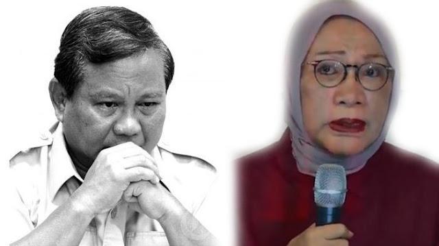 Prabowo Curiga Beberapa Bulan Terakhir, 2-3 Orang Selalu Datangi Ratna Sarumpaet