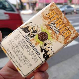 Thuốc lá Africa rula - bấm bạc hà