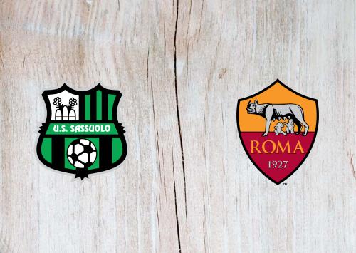 Sassuolo vs Roma -Highlights 1 February 2020