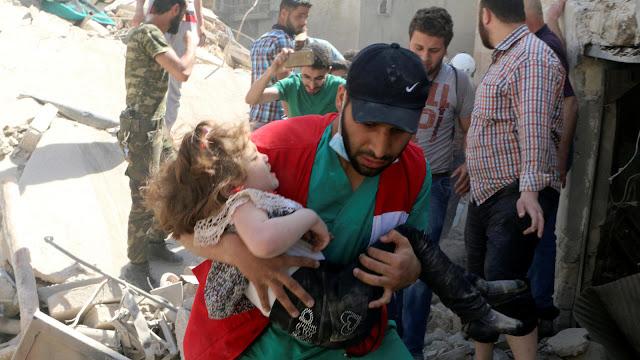 Mengerikan, 1134 Orang Tewas di Bulan Maret Akibat Perang Suriah