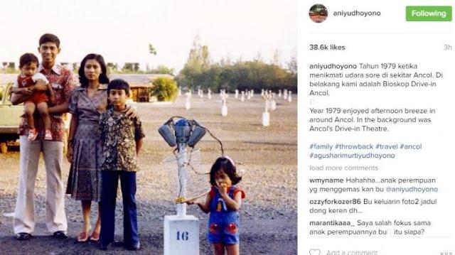 Beredar Foto Lawas Keluarga SBY, Siapa Sosok Gadis Kecil ini?