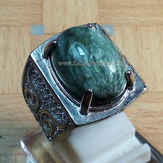 Cincin Batu Bulu Macan Ijo - ZP 886