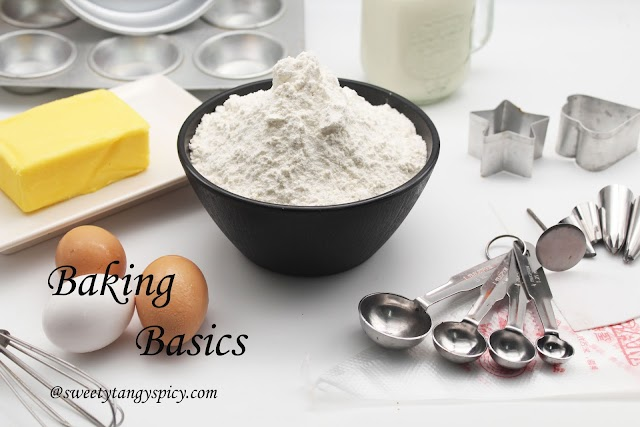 Baking # 2 - Most essential baking tools to start baking