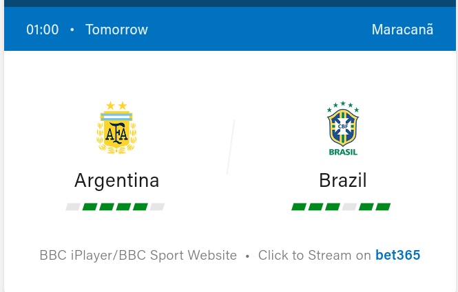 Argentina vs Brazil Football Preview and Predictions 2021
