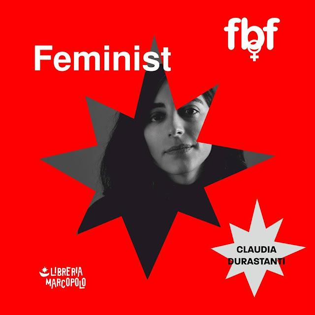 CLAUDIA DURASTANTI a Feminist Book Fortnight a Venezia