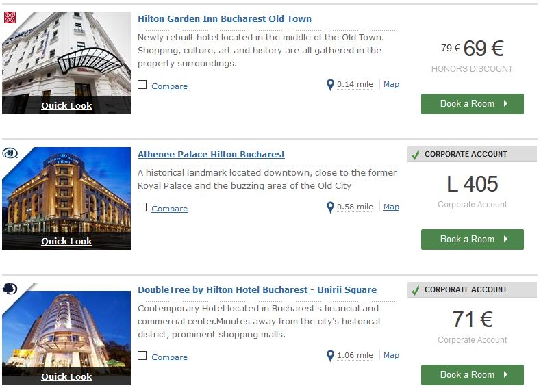 Hilton employee reservations website : Gourmet asian food