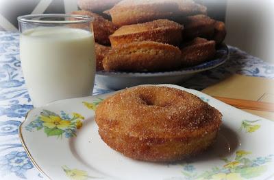Baked Cinnamon Doughnuts