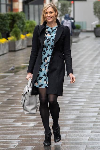Jenni Falconer – Seen leaving Global Studios in London