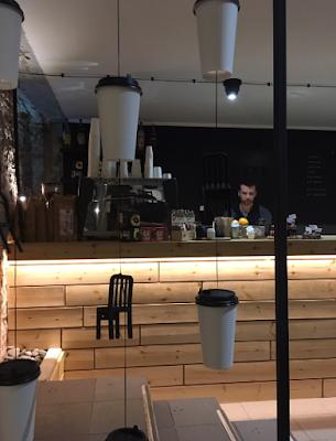 Desain warkop sederhana, desain warung kopi, desain cafe