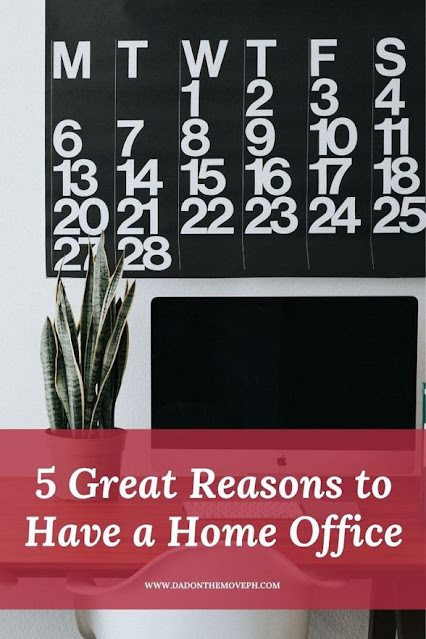5 great reasons to have a home office
