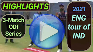 India vs England ODI Series 2021