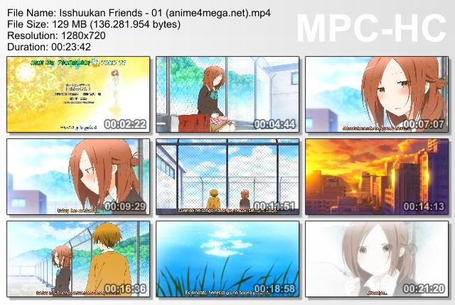 Isshuukan Friends capturas 01