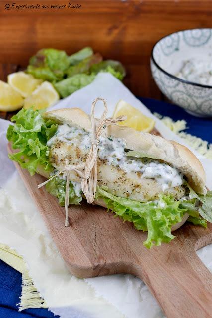 Experimente aus  meiner Küche: Fischbrötchen mit selbstgemachter Remoulade