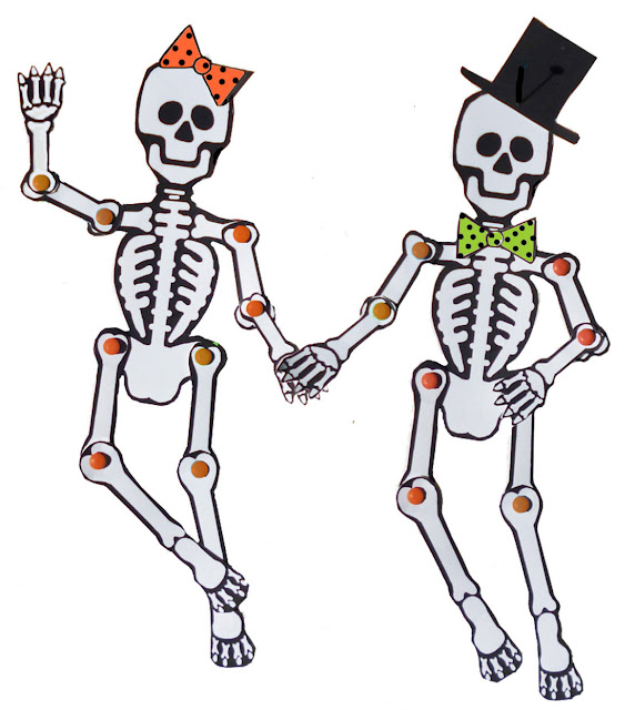 Day Of The Dead Dancing Skeleton Craft