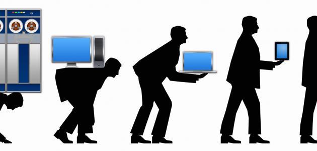 ما الاختراعات التي ساهمت في تطور الحاسوب الحديث