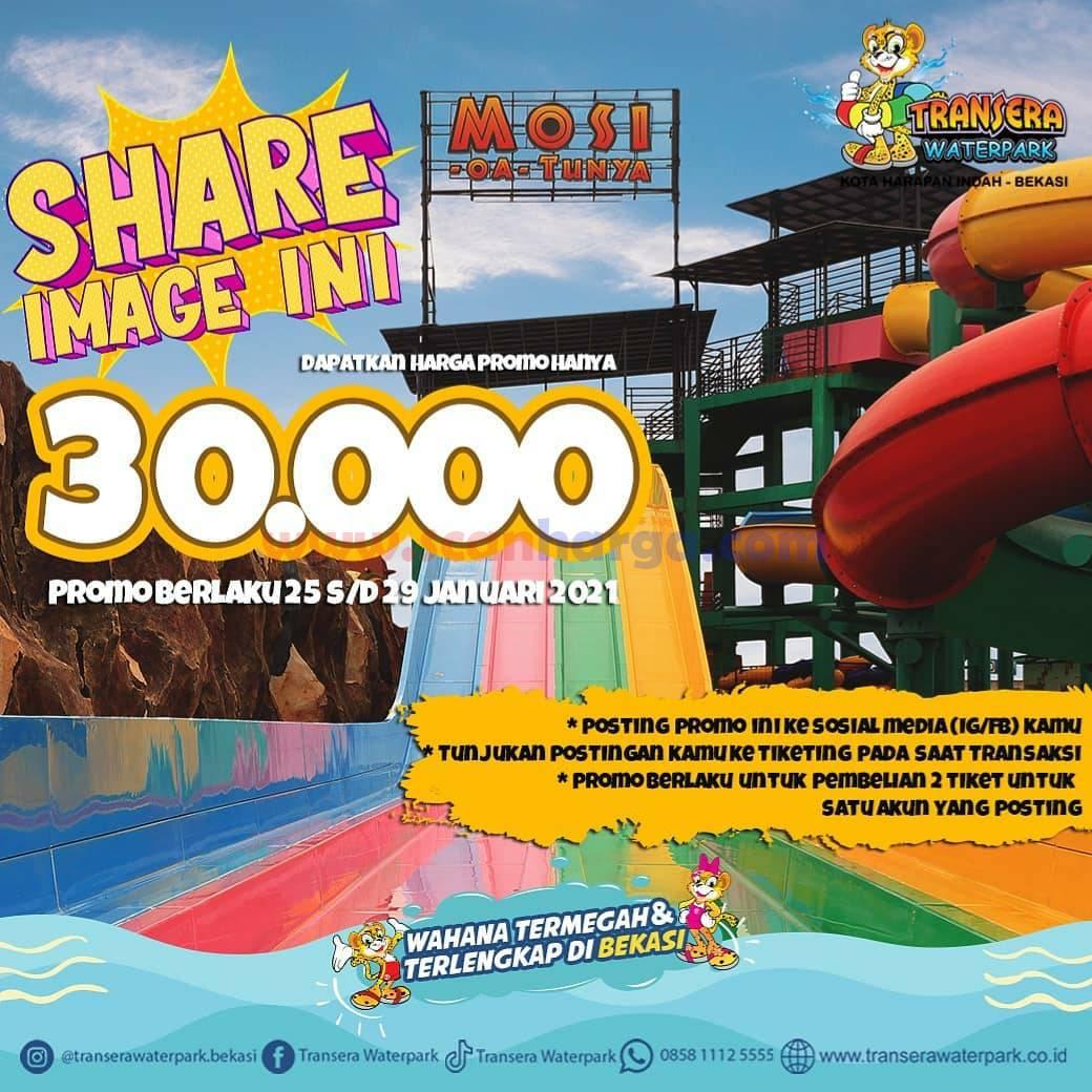 TRANSERA Promo SHARE IMAGE! Harga Tiket jadi hanya Rp 30.000