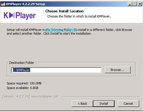 Hướng dẫn cài đặt KMPlayer trên máy tính e f