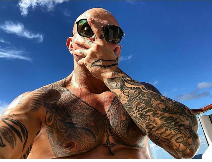 Rey Mysterio Jr Tattoos