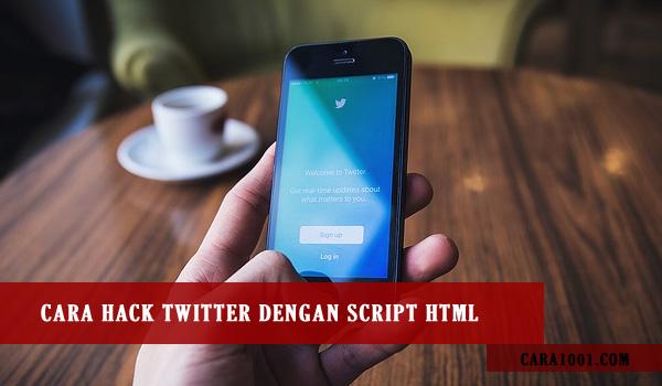 Cara Hack Twitter / Cara Hack Akun Twitter