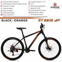 sepeda gunung exotic et2612af mtb mountain bike