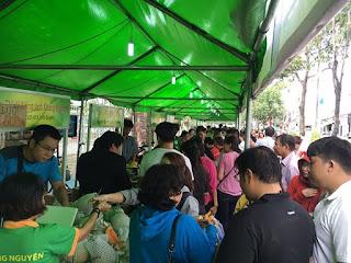 hội chợ nông sản an toàn lần thứ 6 tại công viên Bình Phú