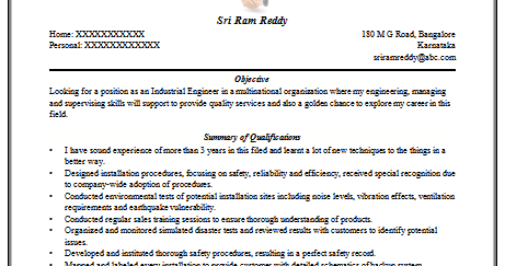 Resume For Computer Science Engineering Freshers