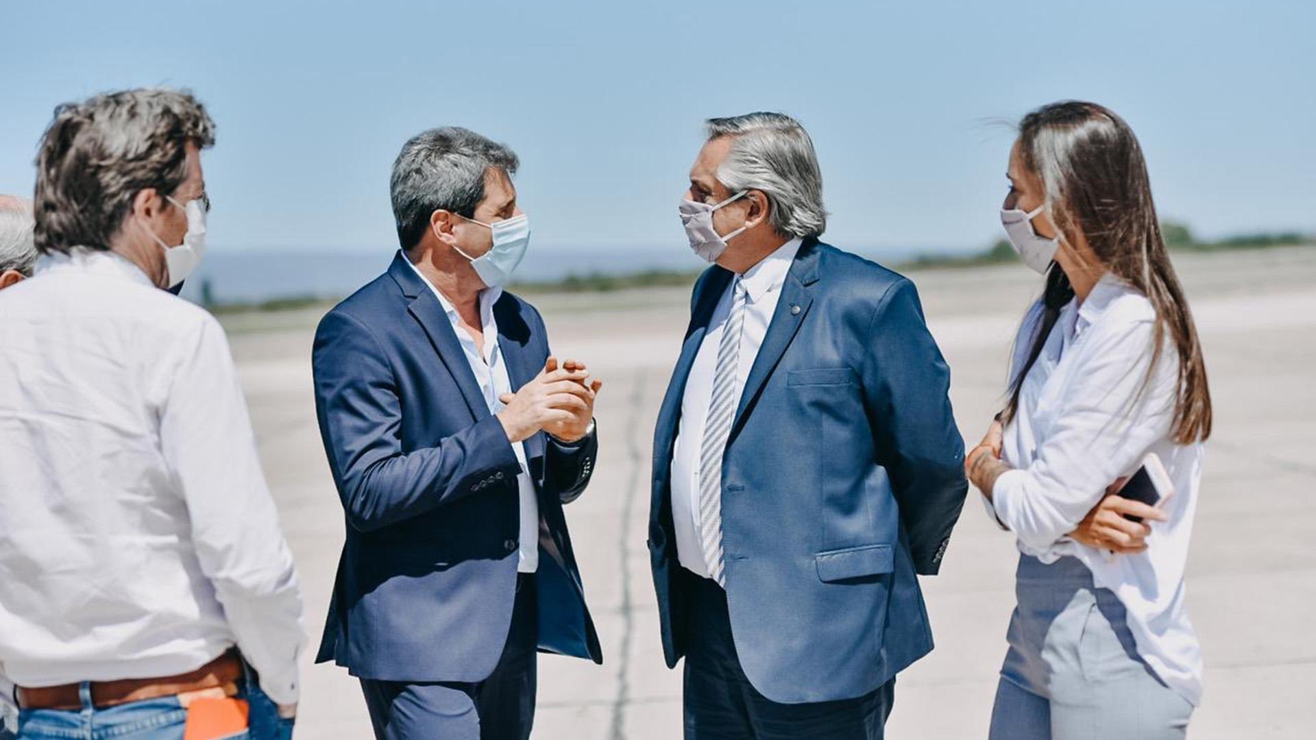 Alberto Fernández visitó San Juan tras el sismo y anunció que adelantará el envío de fondos para viviendas