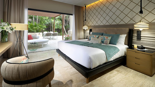 TRS Yucatan consists of 454 luxurious rooms located in an exclusive area within the Grand Palladium Resort & Spa in the Mayan Riviera.