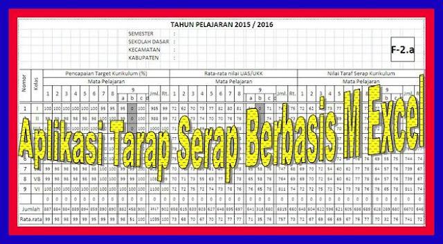 Download Aplikasi Taraf Serap Otomatis Versi Terbaru 2018