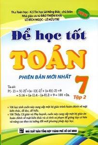 Để Học Tốt Toán Lớp 7: Tập 2 - Lê Hồng Đức