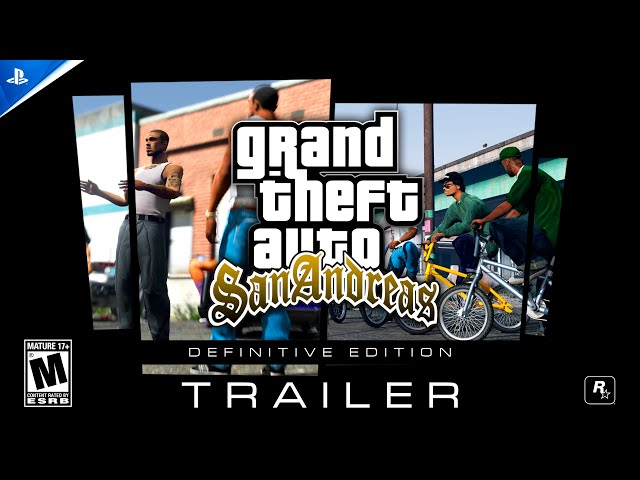 GTA: San Andreas Definitive Edition Remastered For PS5 Trailer