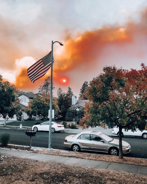 UCIEKAJAC PRZED OGNIEM CZYLI SEZON POZAROWY W SONOMA COUNTY/ESCAPING FROM FIRE - FIRE SEASON IN SONOMA COUNTY