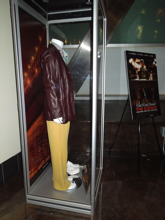 Iceman costume display