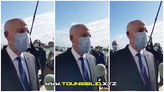 (بالفيديو) قيس سعيد: 'التونسيون دفعو ضريبة الدم ليعيشو أحرارا في وطن حر