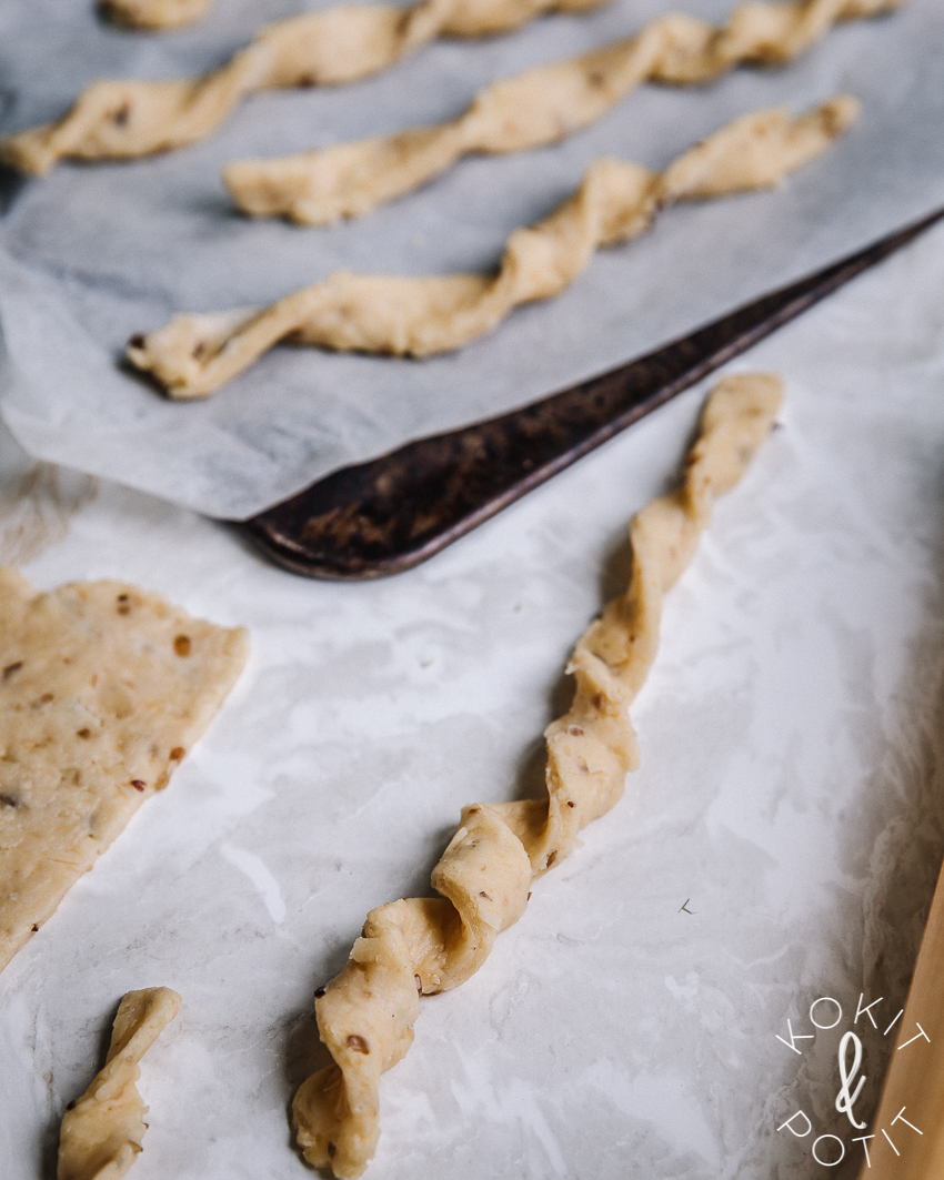 Rouheat juustokierteet – helppo ja nopea resepti