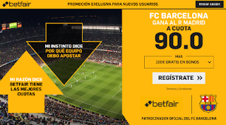 betfair supercuota Barcelona gana Real Madrid 27 febrero 2019