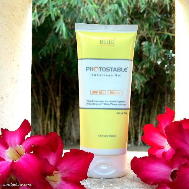 Photostable Sunscreen Gel Review - Best Sunscreen for oily skin