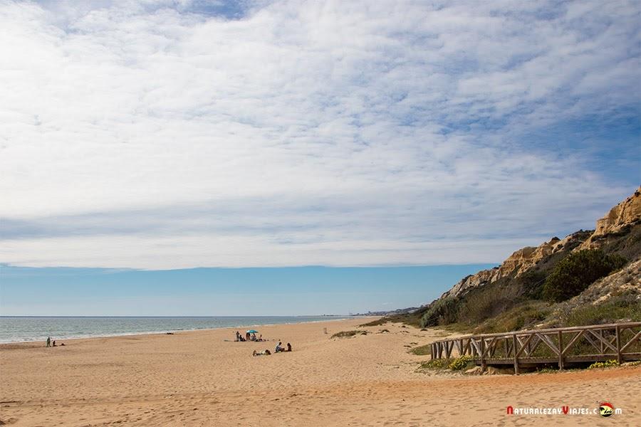 Playa del Parador de Mazagón, Huelva