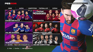 pes 2016 New Graphic Menu Like PES 2020