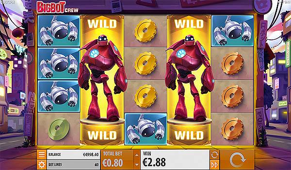 Main Gratis Slot Indonesia - Big Bot Crew (Quickspin)