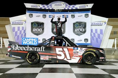 Kyle Busch Grabs His 61st Truck Win