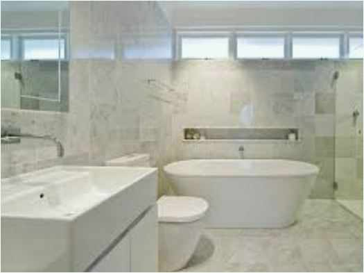 Calacatta Marble Bathroom Ideas  Beautiful
