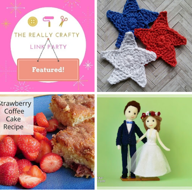 The Really Crafty Link Party #178 featured posts