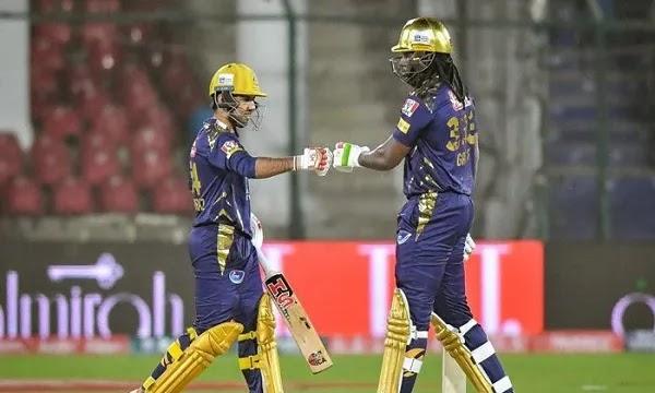 PSL 6: Quetta Gladiators Set a Target of 179 Runs Against Lahore Qalandars