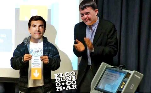 urtubey joven down voto electronico isabel macedo