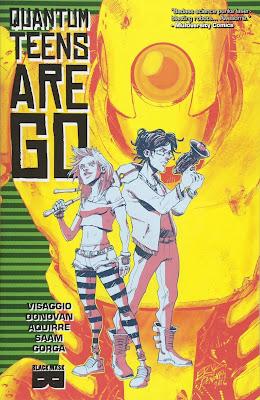Quantum Teens Are Go, Magdalene Visaggio, portada